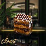 Komadni kolači :: Karamel torta |orah, karamela, lešnik, čokolada|