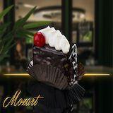 Komadni kolači :: švarcvald torta | višnja, slatka pavlaka, crna čokolada